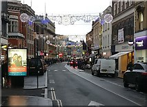 SK5804 : Granby Street in Leicester by Mat Fascione