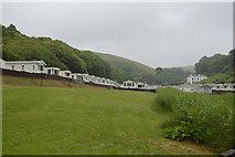 SX4950 : Caravan park, Bovisand Bay by N Chadwick