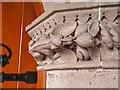 NH7055 : Stone detail Avoch Parish Church by valenta