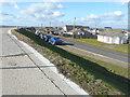 TQ9818 : Broomhill Sands seawall ramp by John Baker