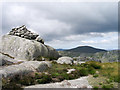 NX4583 : Summit cairn of Craignaw by Trevor Littlewood
