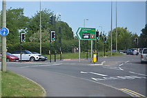 SP4910 : A40, Wolvercote Roundabout by N Chadwick