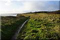 TA2168 : Headland Way towards Sewerby by Ian S
