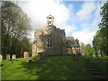 NU0625 : St, Peter's church, Chilingham from the west by Jonathan Thacker