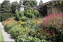 SU9185 : Cliveden flower bed by Bill Nicholls