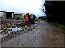 H4277 : A muddy road, Tattraconnaghty by Kenneth  Allen