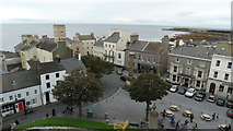 SC2667 : Castletown - View from Rushen Castle towards Market Square by Colin Park