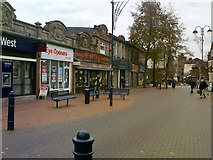 SO9496 : Church Street Bilston by Gordon Griffiths