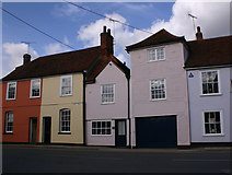 TL8422 : More houses in West Street, Coggeshall by David Kemp