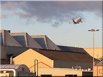 SJ3464 : Airbus factory and Beluga #1 by John S Turner
