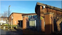 NZ3572 : Marine Park First School, Whitley Bay by Simon Cotterill