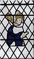SK7694 : Medieval stained glass, All Saints' church, Misterton by Julian P Guffogg