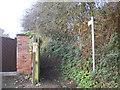 SK5949 : Footpath alongside Hollinwood House, south west of Calverton (2) by Richard Vince