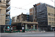 NT2574 : Demolition work, South St Andrew Street by Graeme Yuill