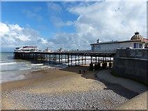 TG2142 : Cromer Pier and beach by Mat Fascione