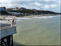 TG2142 : Cromer beach viewed from the end of the pier by Mat Fascione