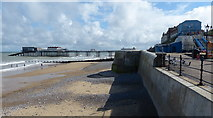 TG2142 : The beach and pier at Cromer by Mat Fascione