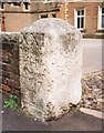 SU9677 : Old Milestone by the B3022, north of Eton by A Rosevear