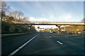 SP9836 : M1 northbound by Robin Webster