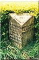 SJ7960 : Old Milepost by J Higgins