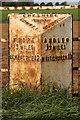 SJ6843 : Old Milepost by J Higgins