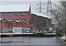 SK5702 : Factories next to the Grand Union Canal by Mat Fascione