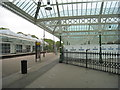 NZ3669 : On the platform at Tynemouth metro station by Jonathan Thacker