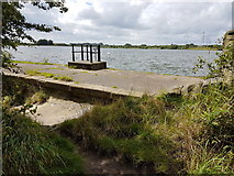 SD7909 : Elton Reservoir by Bradley Michael