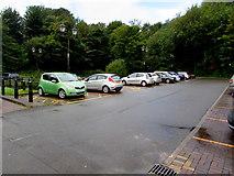 SS9992 : De Winton Street car park, Tonypandy by Jaggery