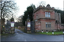 NY6820 : The entrance to Appleby castle by Des Colhoun
