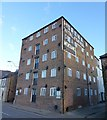 TF4609 : The Horace Friend warehouse on Nene Quay in Wisbech by Richard Humphrey