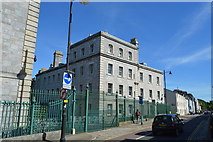 SX4653 : Stonehouse Barracks, South West Block by N Chadwick