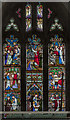 SK7792 : West window, St Mary Magdalene church, Walkeringham by Julian P Guffogg
