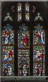 SK7792 : West window, St Mary Magdalene church, Walkeringham by Julian P Guffogg