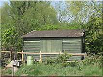 SP3365 : Summerhouse with a past – rear by Robin Stott