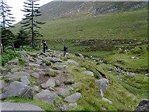 J3629 : The rocky Glen Valley path by Eric Jones