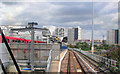 TQ3783 : Pudding Mill Lane station, DLR 2009 by Ben Brooksbank