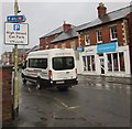 SO8005 : John Dix Travel minibus, High Street, Stonehouse by Jaggery