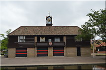 TL4559 : Jesus Boathouse by N Chadwick