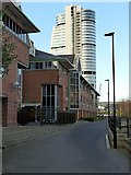 SE3032 : Asda head office with Bridgewater Place tower by Alan Murray-Rust