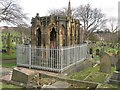 NZ2263 : Elaborate tomb, St John's Cemetery, Elswick, Newcastle upon Tyne by Graham Robson