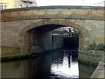 SE2933 : Leeds and Liverpool Canal, Wharf Bridge by Alan Murray-Rust