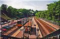 ST1380 : Radyr station, 2001 by Ben Brooksbank