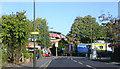 TQ2369 : Raynes Park station, Down side entrance 2005 by Ben Brooksbank
