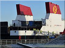 NS3274 : Glen Sannox at Port Glasgow by Thomas Nugent