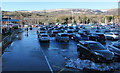 ST2995 : Snow remnants in General Rees Car Park, Cwmbran by Jaggery