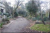TQ2887 : Highgate Cemetery by DS Pugh