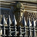 SE2933 : Leeds Town Hall, detail by Alan Murray-Rust