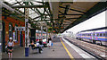 SU7173 : Reading station, Down main platform, 2005 by Ben Brooksbank