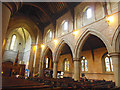 SE2120 : St Mary the Virgin, Mirfield - nave and north aisle by Stephen Craven
